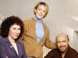 Rhea Perlman, Mary Stuart Masterson and Hector Elizondo (from left) in Kate Brasher