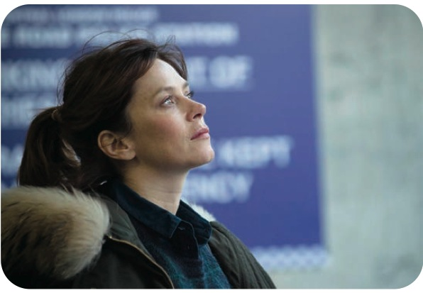Anna Friel as Marcella in ITV's crime drama of the same name.