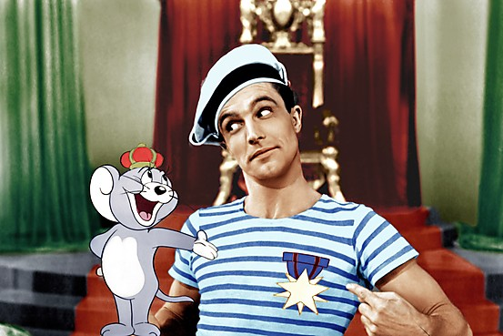 Gene Kelly Anchors Aweigh