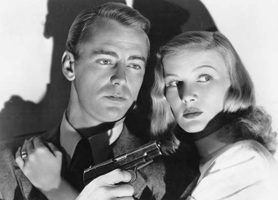 Alan Ladd The Blue Dahlia
