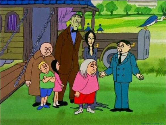 Addams Family Animated