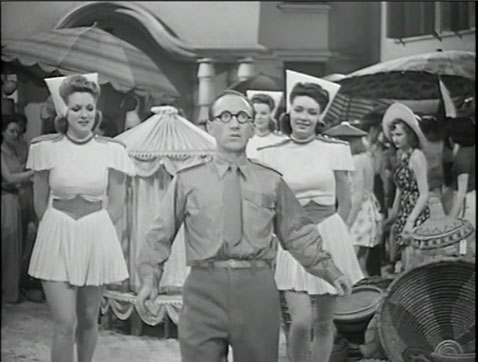 Arthur Askey Bees In Paradise