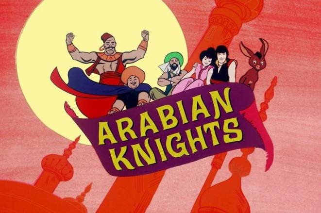 Banana Splits Arabian Knights