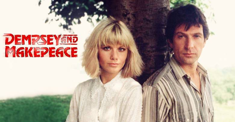 Glynis Barber and Michael Brandon in Dempsey and Makepeace