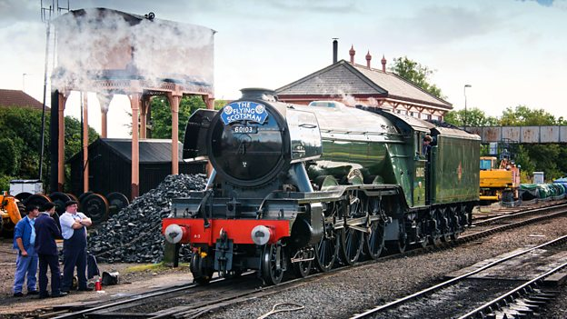 Flying Scotsman From the Footplate