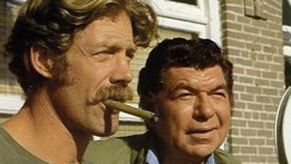 Movin' On Frank Converse and Claude Akins