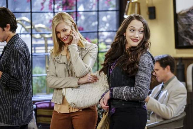 2 Broke Girls And the Stalking Dead
