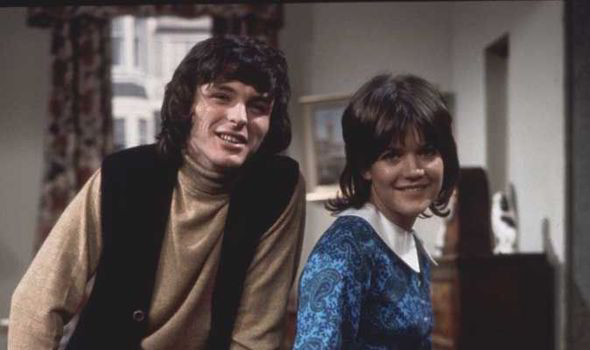 Bless This House Robin Stewart and Sally Geeson.