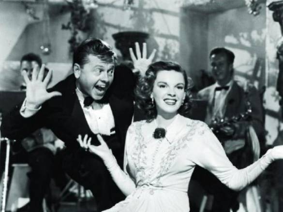 Mickey Rooney with Judy Garland in Words and Music.