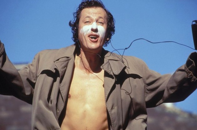 Shine - Geoffrey Rush as the cinema David Helfgott
