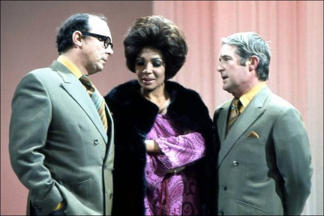 Shirley Bassey with Morecambe and Wise