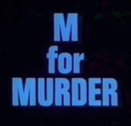 Dial M For Murder BBC 1974 anthology series