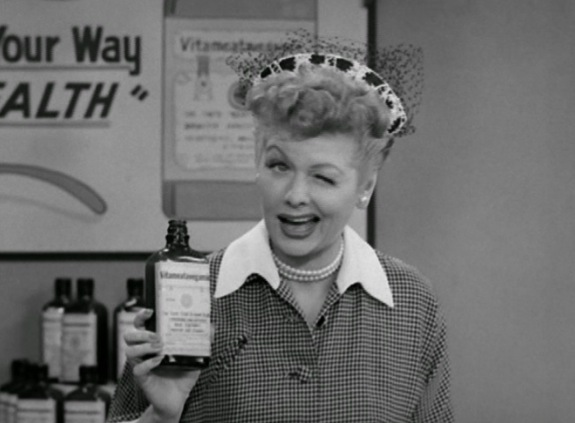Lucille Ball and Vitameatavegamin