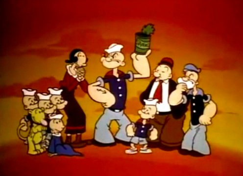 All New Popeye Hour