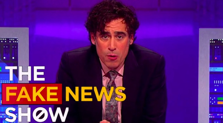 Fake News Show Stephen Mangan