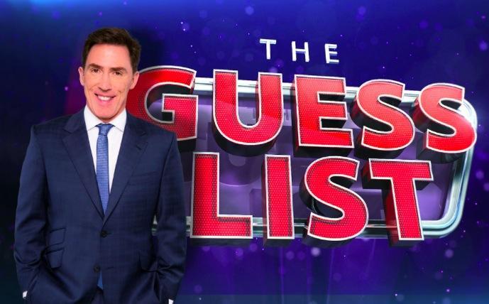 The Guess List BBC 2014 Rob Brydon