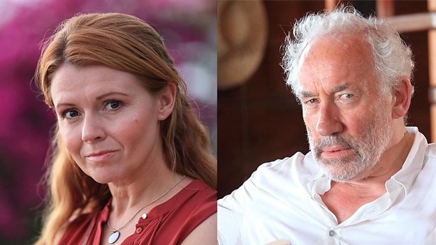 Sian Gibson and Simon Callow