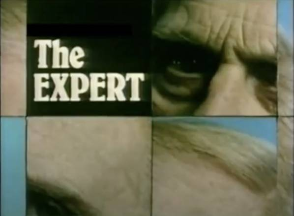 The Expert Title Card BBC 1968-1976