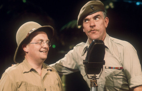Don Estelle and Windsor Davies on Top of the Pops 1975
