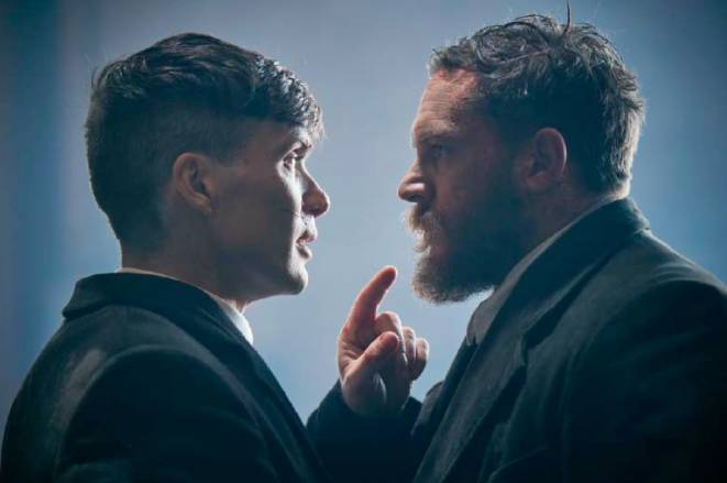 Peaky Blinders Cillian Murphy and Tom Hardy