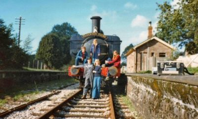 The cast of The Flockton Flyer