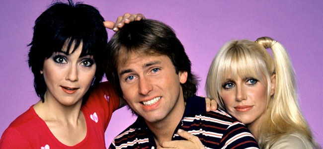 Three's Company (ABC 1977-1984, John Ritter, Suzanne Somers)