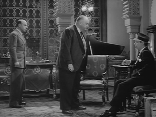 Sydney Greenstreet Background To Danger