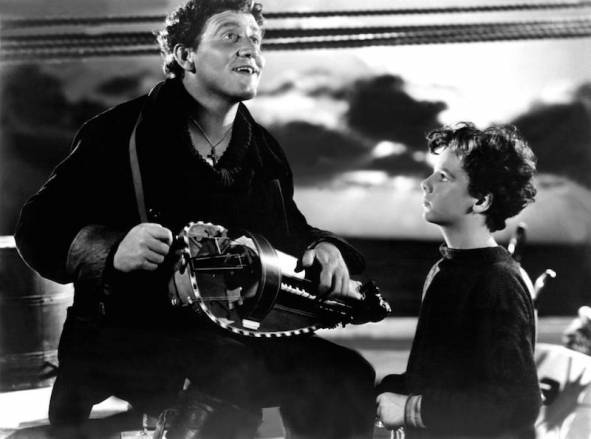 Spencer Tracy Captains Courageous
