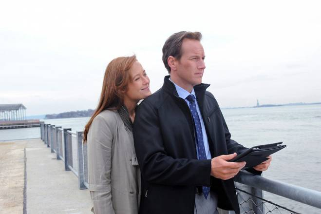 A Gifted Man Jennifer Ehle and Patrick Wilson