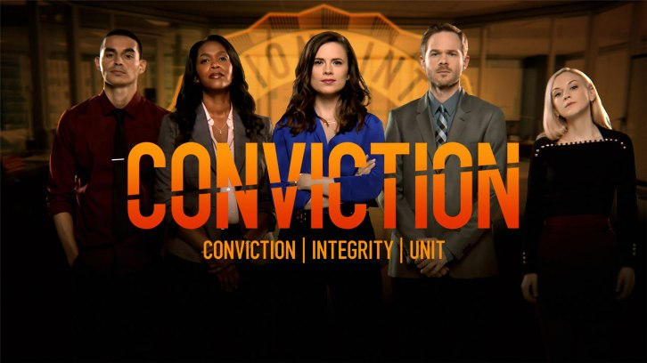 Conviction: Enemy Combatant Premieres Sun Jan 15, 2017 on ABC