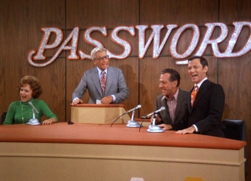 Classic Episodes Odd Couple Password