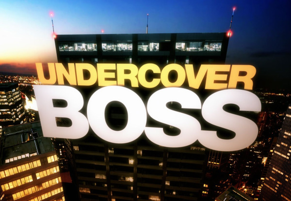 Undercover Boss CBS Reality Series