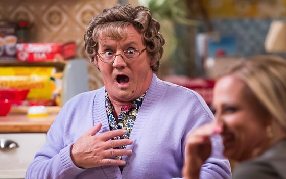 New entertainment series It's All Round to Mrs Brown's for BBC One Sat nights