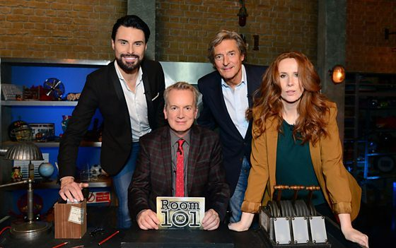 Room 101 with Frank Skinner Series Return 13 Jan on BBC One