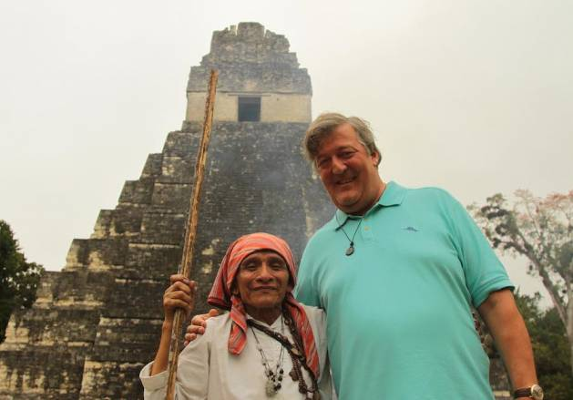 Stephen Fry in Central America Episode 2 airs on ABC 17 Jan at 8.30pm