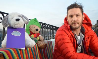 Tom Hardy joins CBeebies viewers for another Bedtime Story, airing Tues 14 Feb at 6.50pm, as he reads The Cloudspotter by Tom McLaughlin.