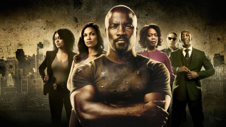 Marvel's Luke Cage (Netflix 2016, Mike Colter, Rosario Dawson)