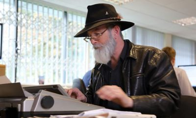Terry Pratchett Back In Black
