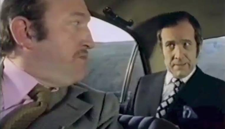 Dial M For Murder BBC 1974 Ian Hendry and Robert Lang in the story Contract