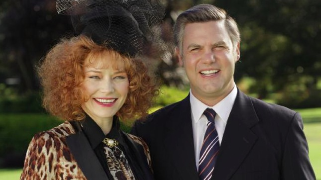 House of Bond Adrienne Pickering and Ben Mingay