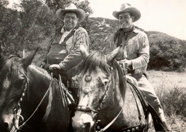 Wild Bill Hickok, Guy Madison and Andy Devine