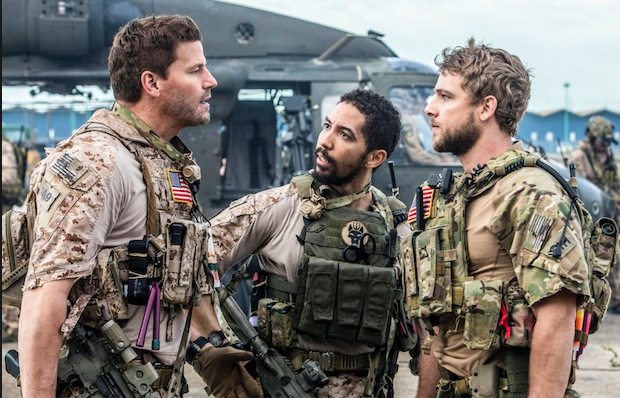 Seal Team (CBS 2017, David Boreanaz, Max Thieriot)