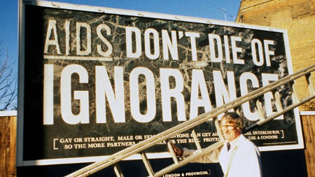 Epidemic: When Britain Fought Aids airs 9 Jul on Channel 4