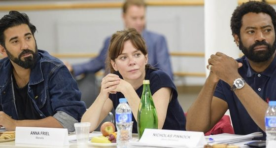 Anna Friel is back as ITV's Marcella as Season 2 begins filming