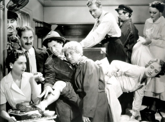 Classic Comedy Moments: The Stateroom Scene from A Night at the Opera (1935)