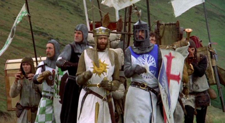 Top 10 Fantasy Movies Monty Python and the Holy Grail