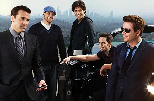Entourage (HBO 2004-2011, Adrian Grenier, Kevin Connolly)