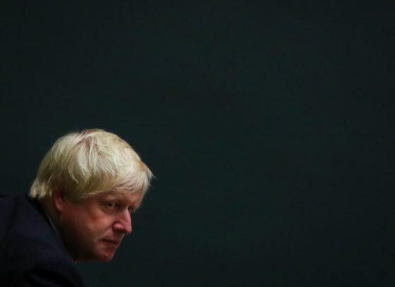 Boris Johnson Blond Ambition