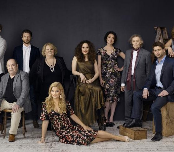 The cast of Sisters Channel 10 2017