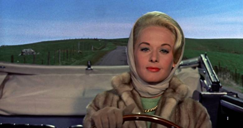 Tippi Hedren as Melanie Daniels in The Birds